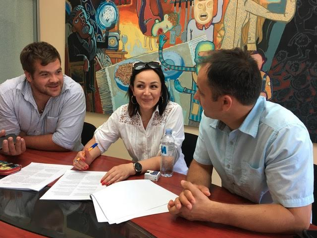 Open Gate Moldova Partners with Local Business Owner!