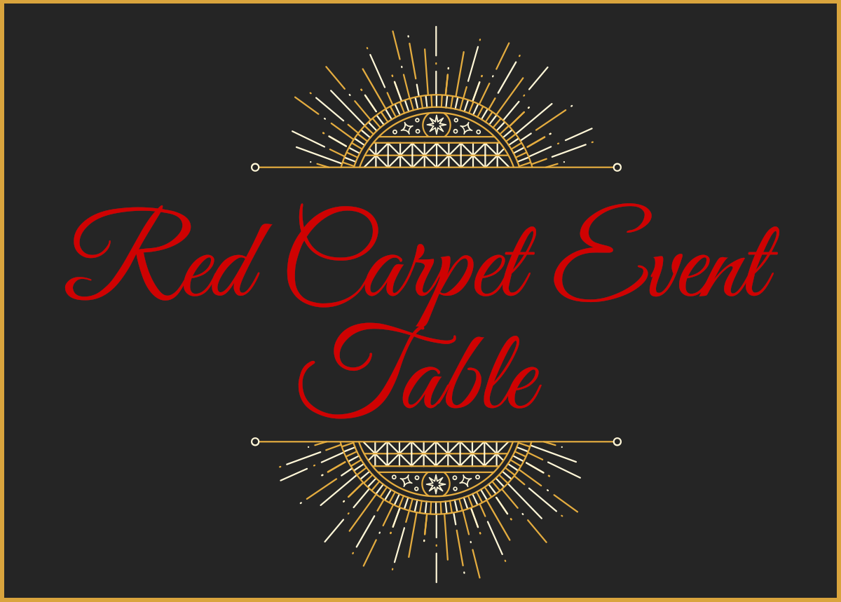Red Carpet Event - Table