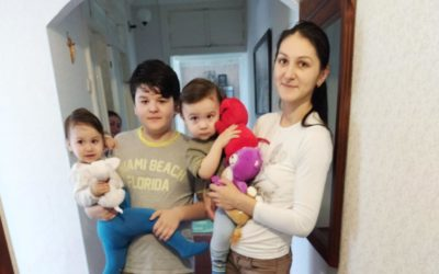 Sending Love and Support to Moldova Families and Special Needs Children